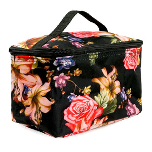 Patterned Portable Travel Organizing Cosmetic Makeup Bag for Women