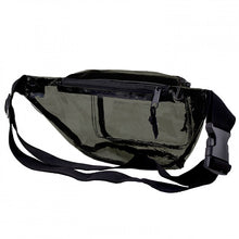 Load image into Gallery viewer, Anti-Theft 3-Zipper PVC Fanny Pack with Black Trim for Music Festivals & Raves