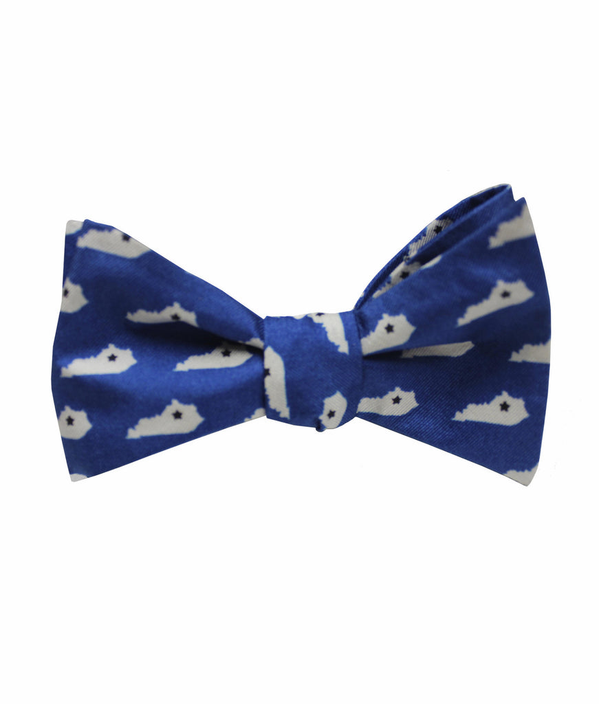 Blue Kentucky Classics State Bow Tie