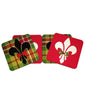 Holiday Beverage Coasters