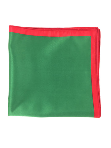 Holiday Green Pocket Square