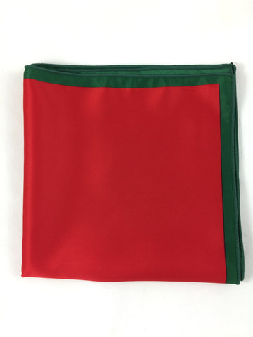 Holiday Red Pocket Square