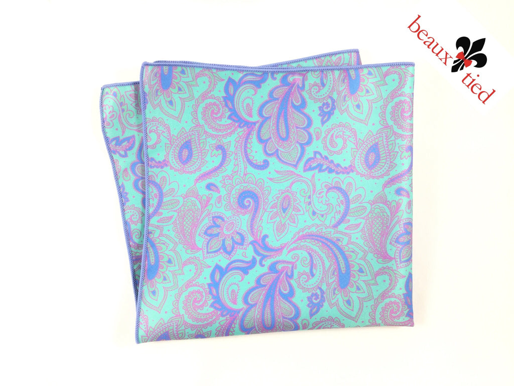 Perfectly Paisley Pocket Square