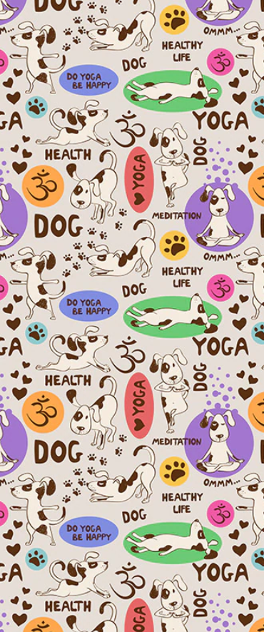 Leggings: Yoga dogs