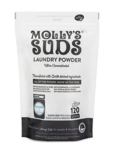 Molly Suds Natural Unscented Laundry Detergent