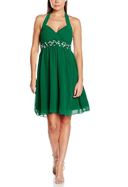 Chiffon Beaded Cocktail Dress
