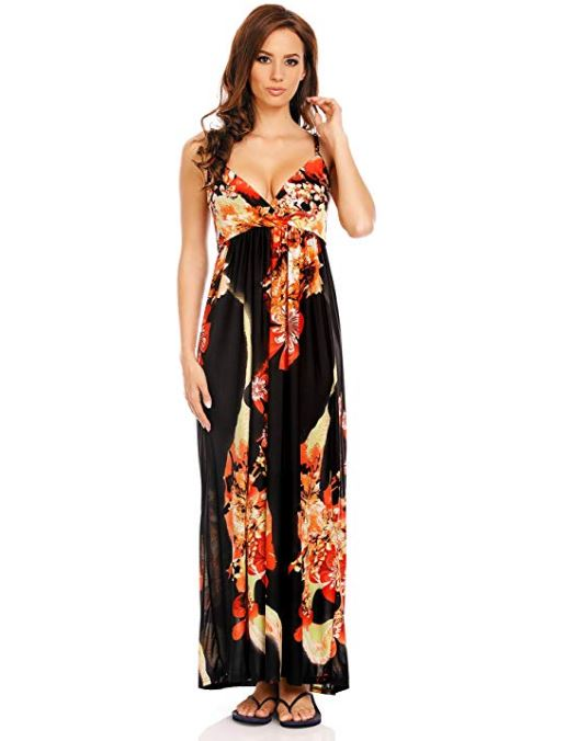 Floral Drama Summer Maxi Dress For Sale  - Women Dresses | Fashionhouse