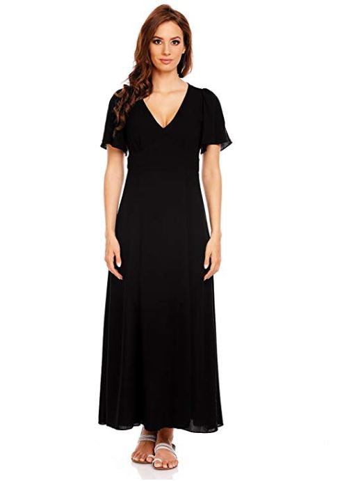 Gifted Lure Short Sleeve Maxi Dress- Women Clothing | Fashionhouse