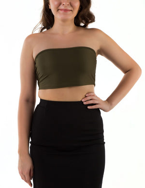 Affinity Strapless Tube Top
