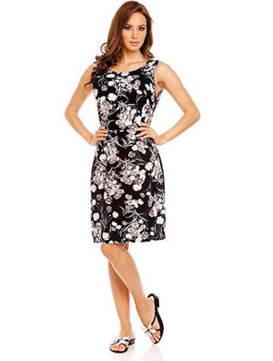 Devoted Flower Knee Length Dress