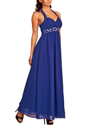 Beaded Long Evening Dress
