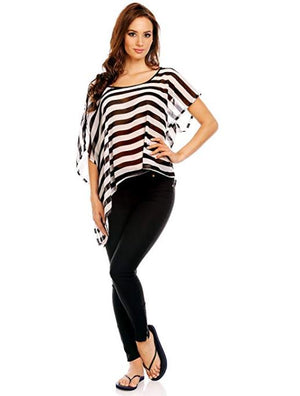 Women's Summer Cover Up Blouse Top