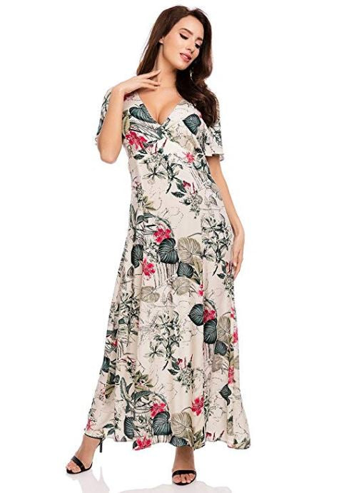 Holiday Times Floral Maxi Dress - Fashion Dresses | Fashionhouse