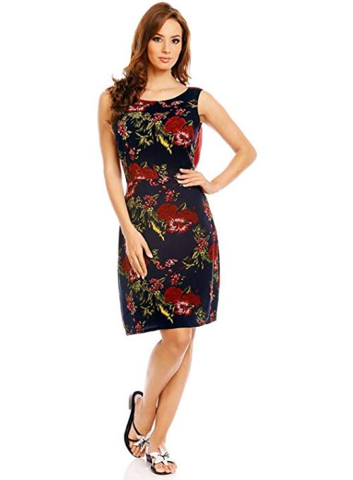 Floral Casual Cotton Dress