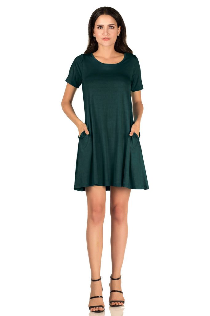 Mysterious Pockets Tunic Dress - Ladies Dresses | Fashionhouse