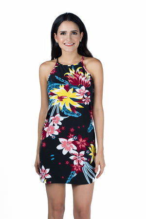 Amazon Floral Printed Mini Dress - Dresses For Sale | Fashionhouse