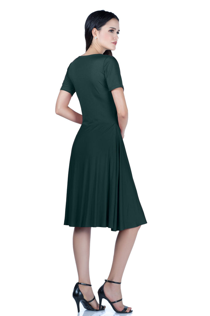 Viscose Swing Dress