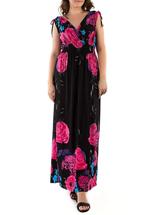 Wildflower Printed Maxi Dress