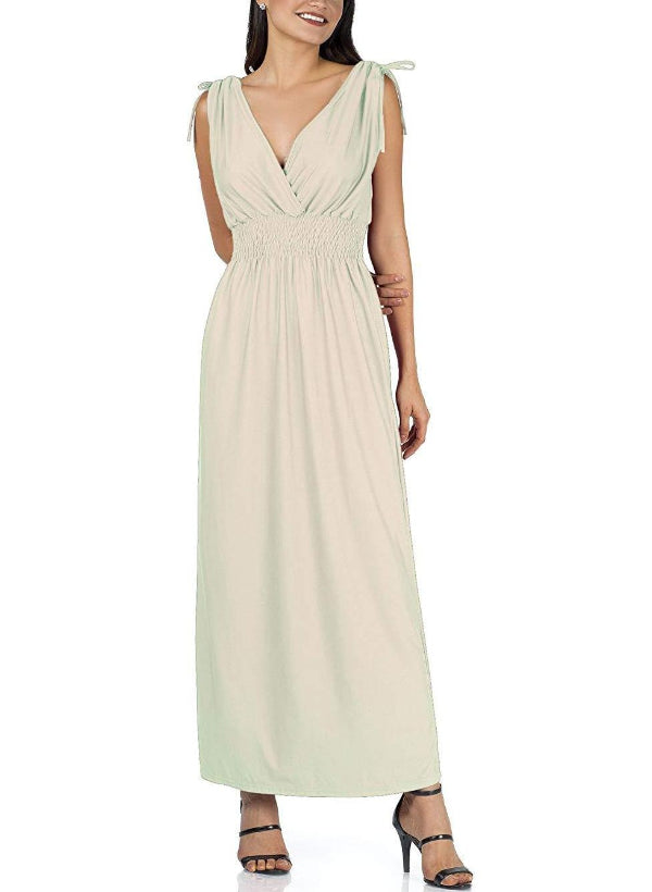 Plain Summer Maxi Dress