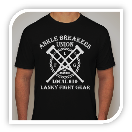 Ankle Breakers Union - Black - Lanky Fight Gear