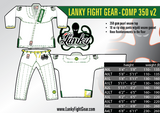 Lanky COMP 350 - White II - SEPARATES - Pants