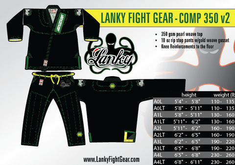 Lanky COMP 350 - Black - SEPARATES - Pants