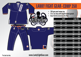COMP 350 - Blue - Lanky Fight Gear  - 1