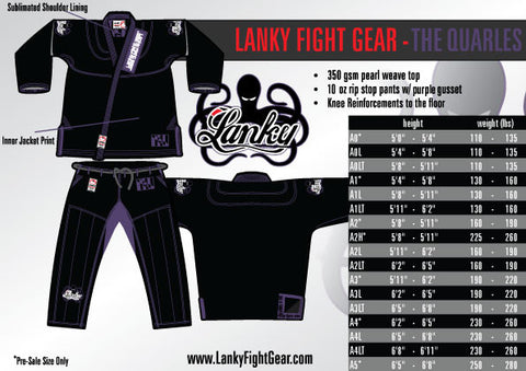 The Quarles - SEPARATES - Lanky Fight Gear  - 1