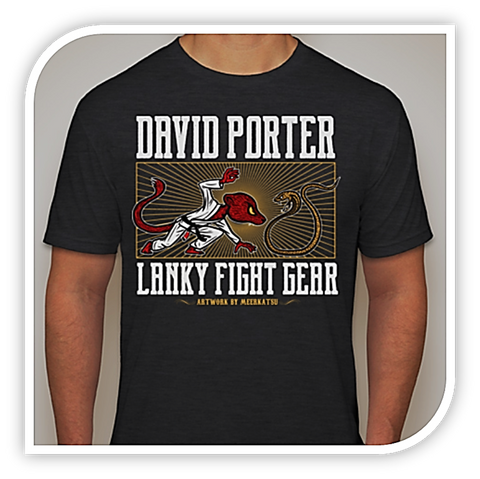David Porter Signature Shirt v2 - Lanky Fight Gear  - 1