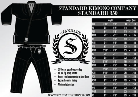 Standard 350 - Black - SEPARATES - Pants
