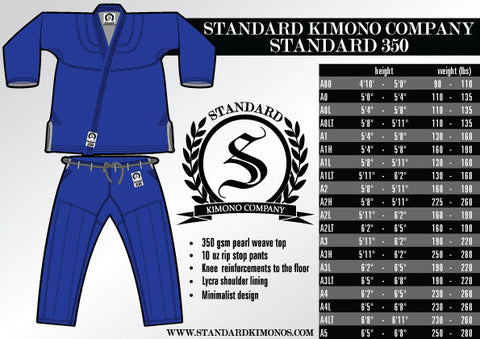 Standard 350 - Blue - SEPARATES - Pants