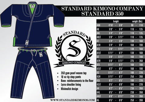Standard 350 - Navy - SEPARATES - Tops