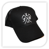 Hardcore Reaper Hat - Black - Lanky Fight Gear  - 2
