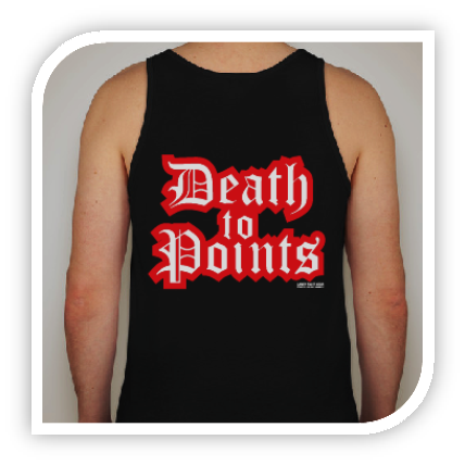 Death to Points - Tank Top - Lanky Fight Gear  - 1