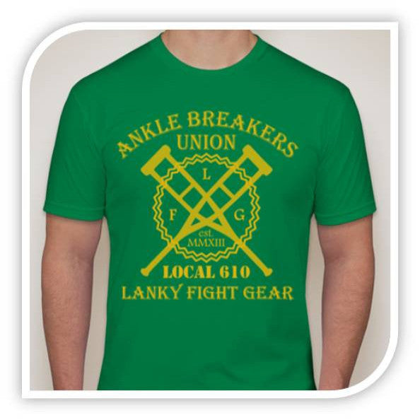 Ankle Breakers Union - Green - Lanky Fight Gear