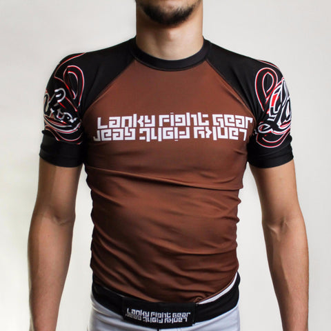 Ranked Rash Guard v2 - Lanky Fight Gear  - 1