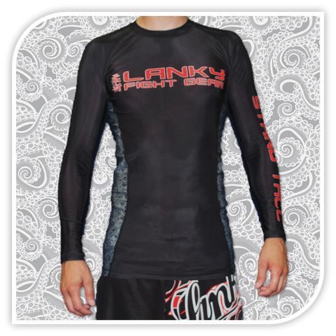 Lanky Octopaisley Rash Guard