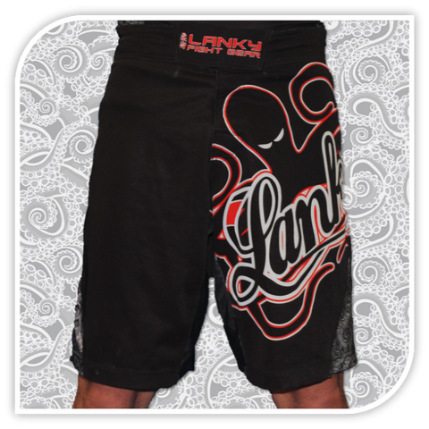 Lanky Octopaisley Fight Shorts