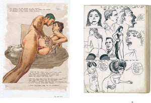 The Erotic Drawings of Anton Kannemeyer - Hardcover (Yellow)