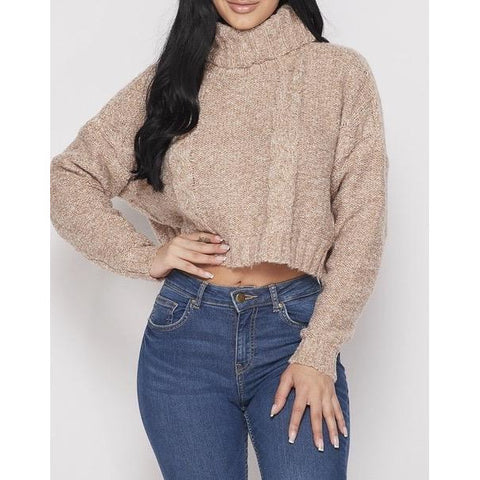 DeDe Crop Top Sweater