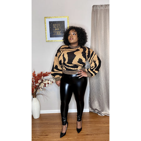Mya Faux Leather Leggings