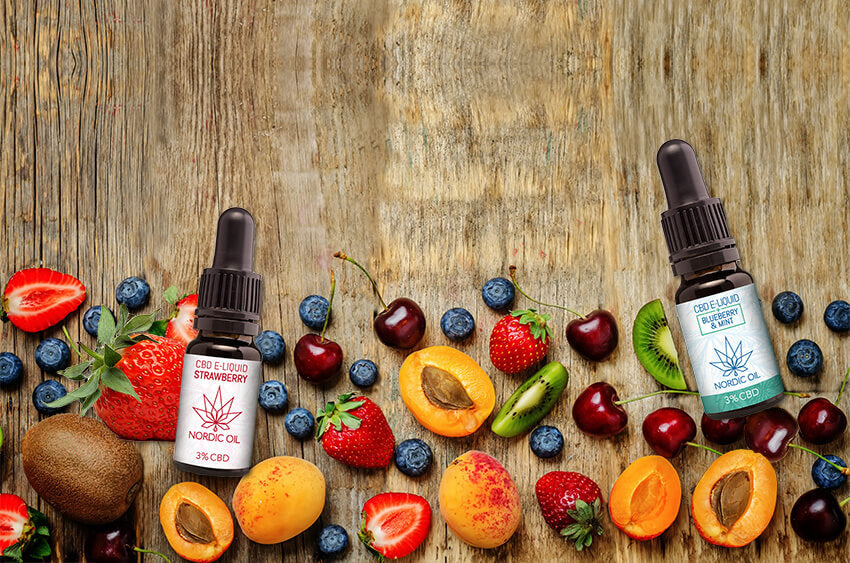 Hemperia CBD E-Liquid Strawberry Blueberry