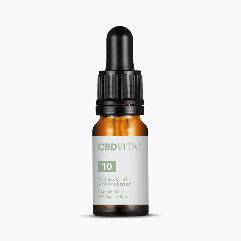 CBD Öl Naturextrakt Vollspektrum 10% - HEMPERIA