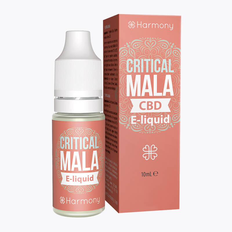 Critical Mala CBD E-Liquid - HEMPERIA