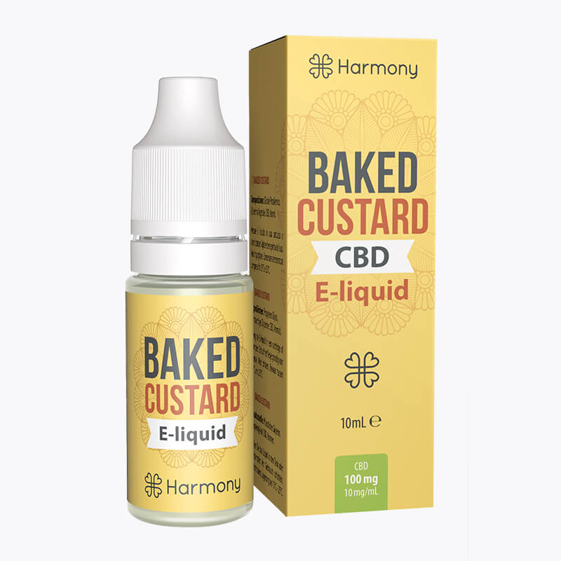 Baked Custard CBD E-Liquid - HEMPERIA