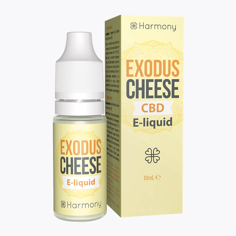 Exodus Cheese CBD E-Liquid - HEMPERIA