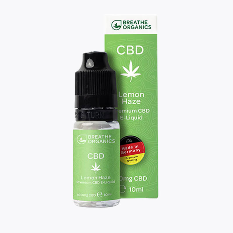 Premium CBD E-Liquid Lemon Haze - HEMPERIA