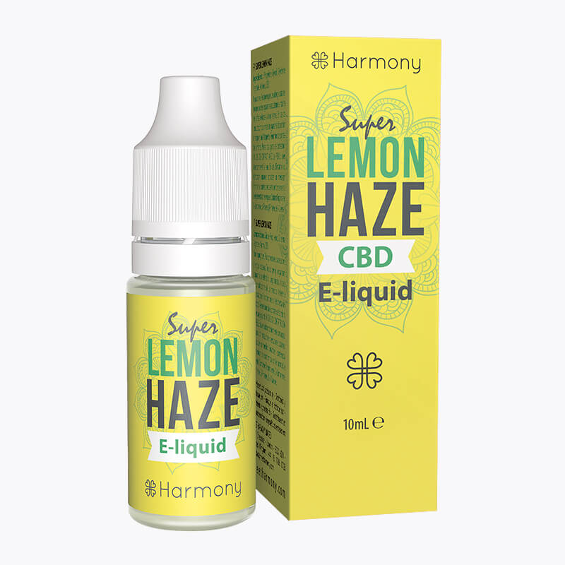 Super Lemon Haze CBD E-Liquid - HEMPERIA