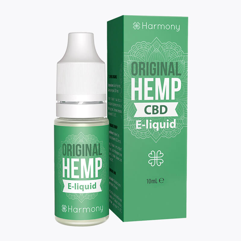 Original Hemp CBD E-Liquid - HEMPERIA