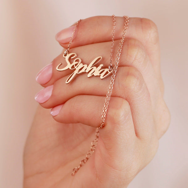 Dainty Custom Name Necklace